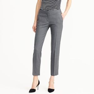 J. Crew Tollegno 1900 favorite fit pants